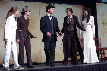 Middle School Play: Around the World in 80 Days
