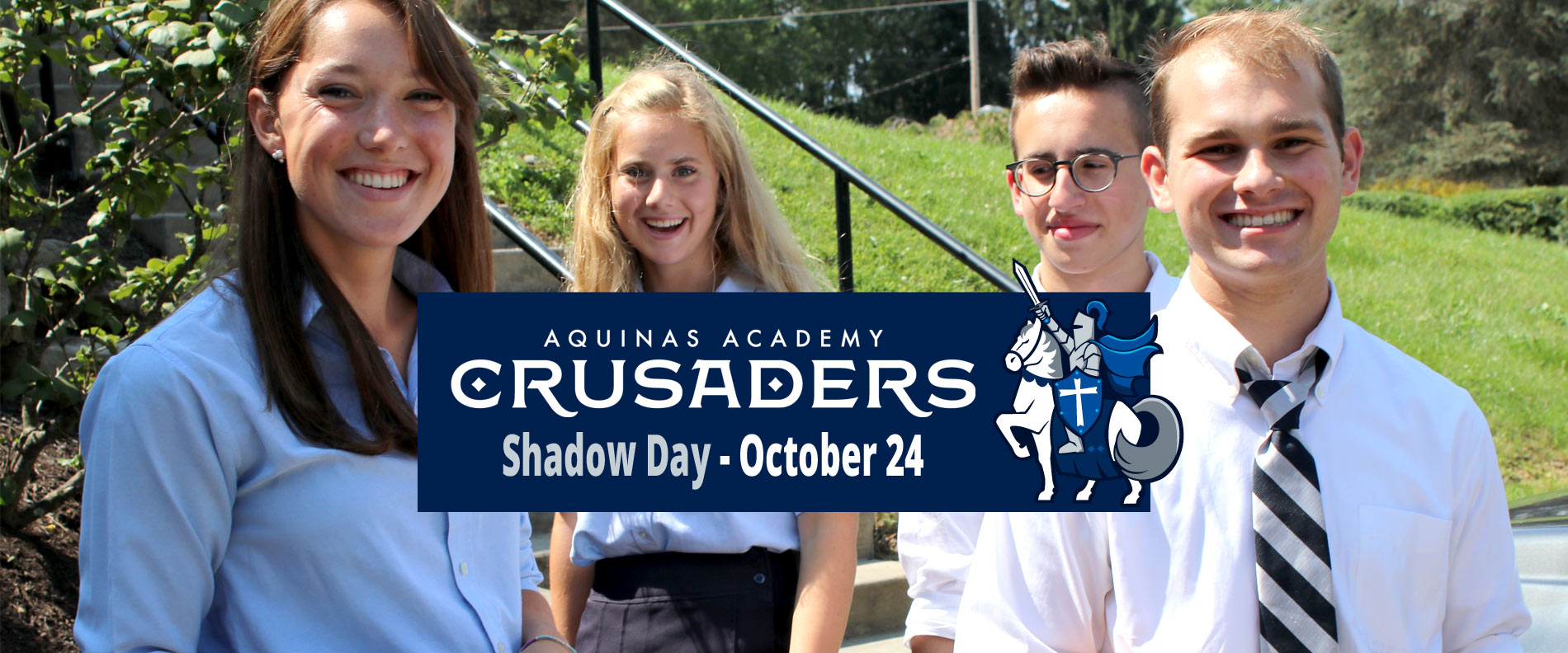 Be a Crusader for the Day! | October 24, 2018 | 8 a.m.- 3:00 p.m.